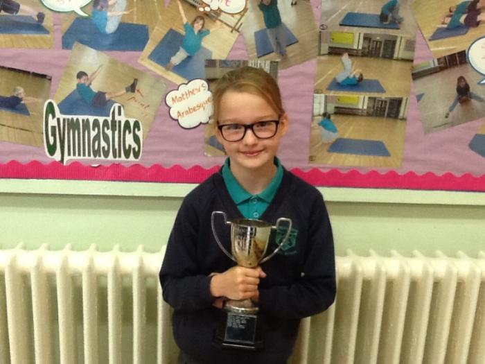 - Y6 most improved girls hockey player.