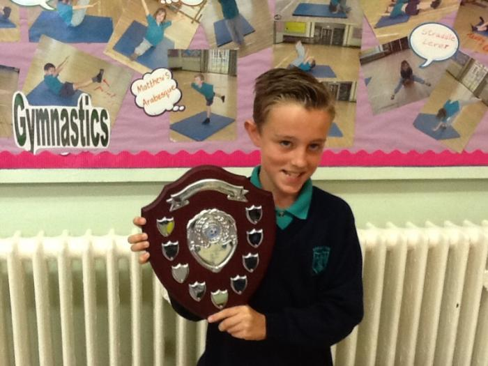 - Y6 Football player of the year